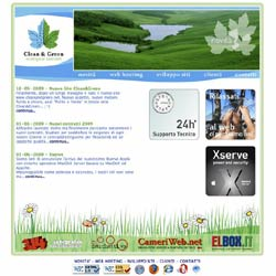 Sito Clean&Green - Ecological Internet