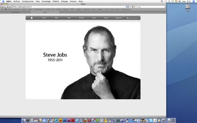 Titolo: Steve Jobs on my iMac